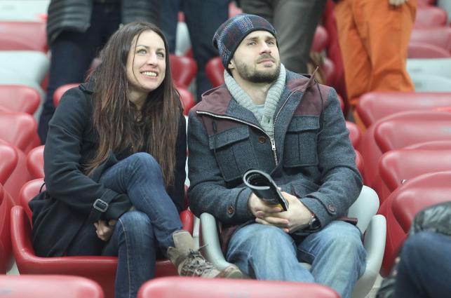 Kowalczyk żużlowe Grand Prix na Stadionie Narodowym oglądała u boku tajemniczego mężczyzny