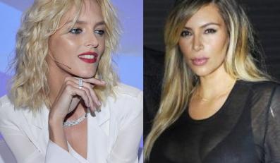 Anja Rubik, Kim Kardashian