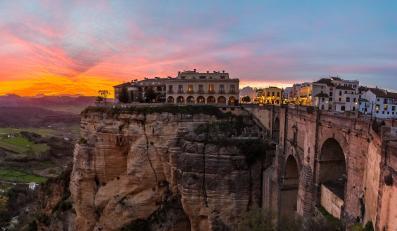 Ronda w prowincji Malaga, Hiszpania