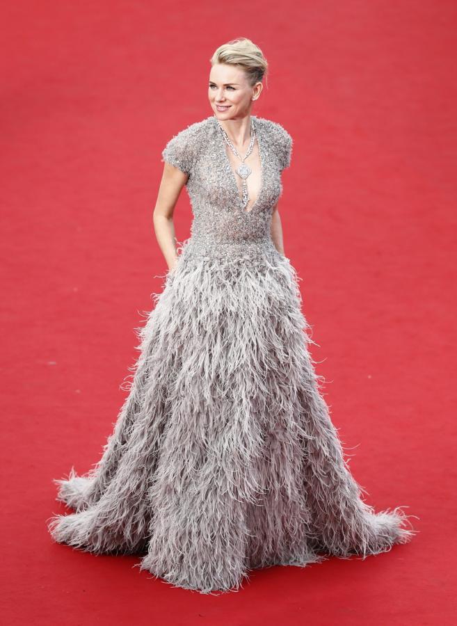 Naomi Watts na festiwalu w Cannes