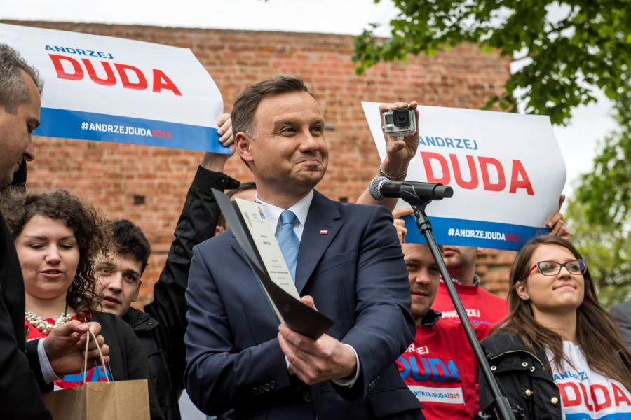 Kandydat PiS na urząd prezydenta RP - Andrzej Duda