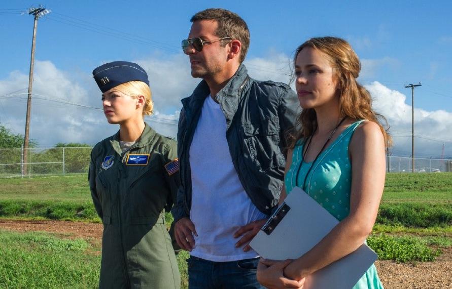 Emma Stone, Bradley Cooper i Rachel McAdams zagubieni na Hawajach