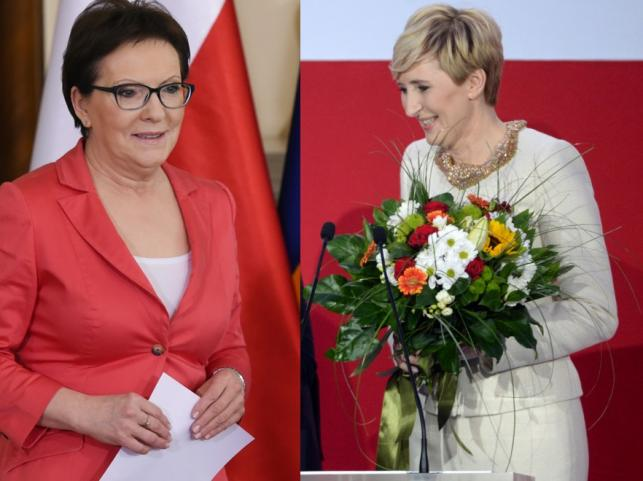 Ewa Kopacz i Agata Kornhauser-Duda