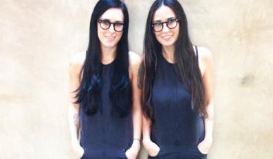 Demi Moore i jej córka Rumer Willis