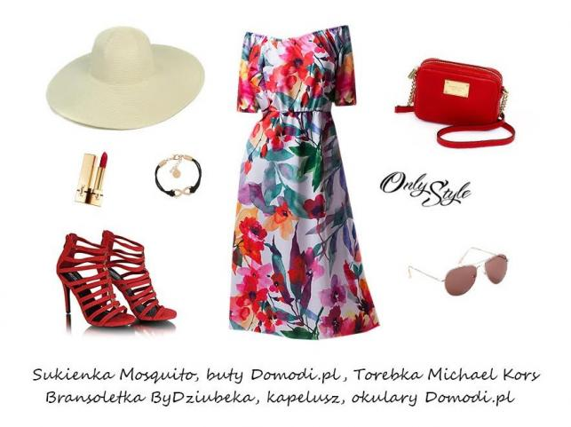 Kobiece lato w mieście: STYLIZACJE z sukienkami