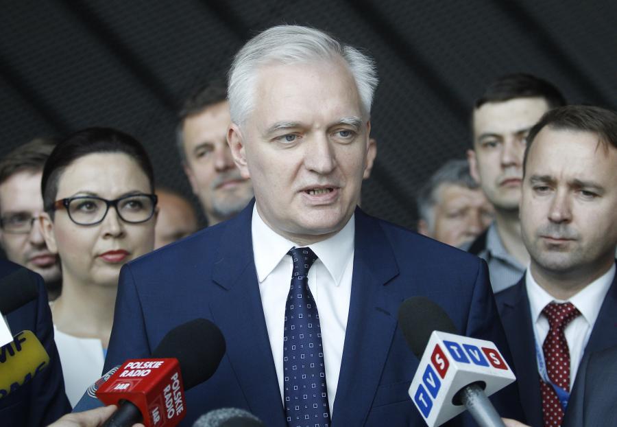 Lider Polski Razem Jarosław Gowin