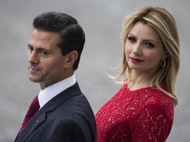 Angélica Rivera i Enrique Peña Nieto