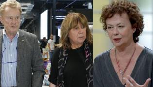 Daniel Olbrychski, Krystyna Demska-Olbrychska, Joanna Szczepkowska