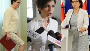 Ewa Kopacz, Joanna Mucha i Małgorzata Kidawa-Błońska