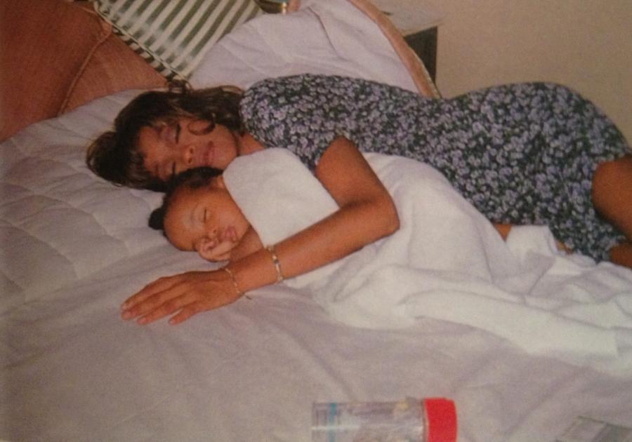 Whitney Houston i malutka Bobbi Kristina Brown