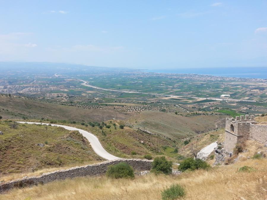Akrokorynt, Grecja