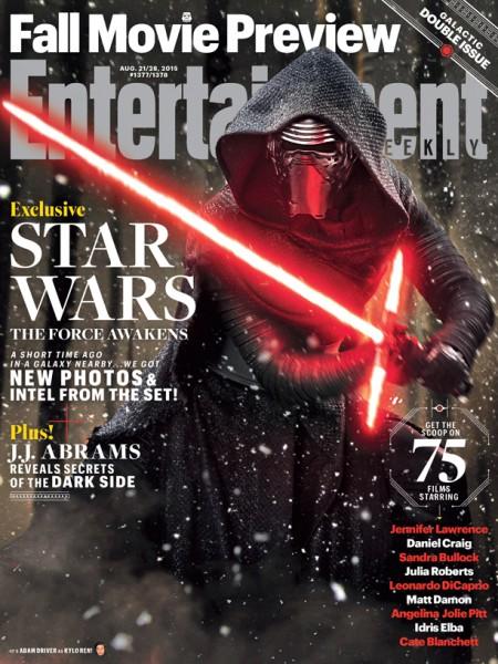 """""""Przebudzenie mocy"""" na okładce """"Entertainment Weekly"""""""