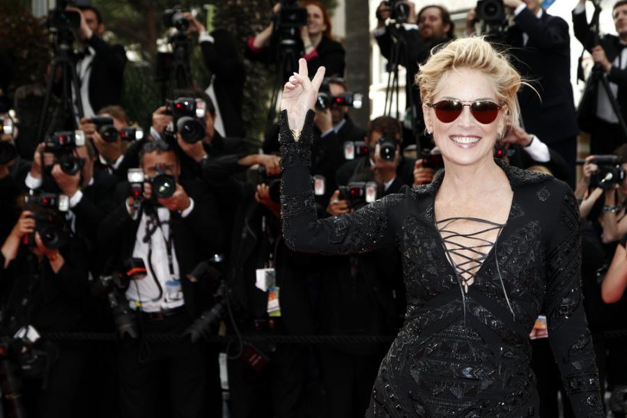 Sharon Stone kontra wdowa w \
