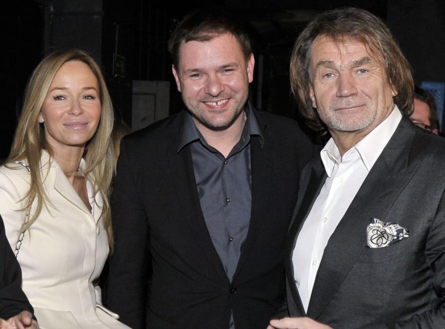 Joanna Przetakiewicz, Tomasz Karolak, Jan Kulczyk