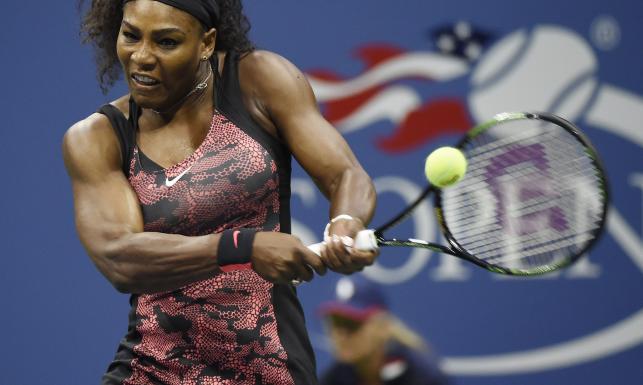 US Open: Serena Williams wyszła na kort w efektownej sukience. ZDJECIA
