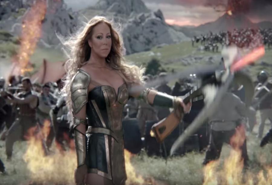 Mariah Carey jak Xena Wojownicza Księżniczka