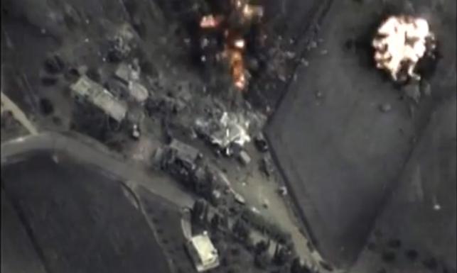 Rosja chwali się skutecznością nalotów. Pokazuje ZDJĘCIA z ataków
