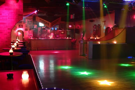 Wnętrze klubu \