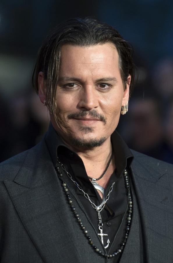 "Johnny Depp na premierze filmu ""Pakt z diabłem"""