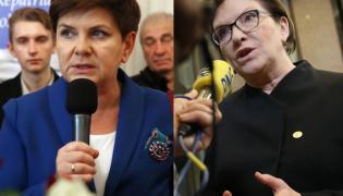 Beata Szydło i Ewa Kopacz