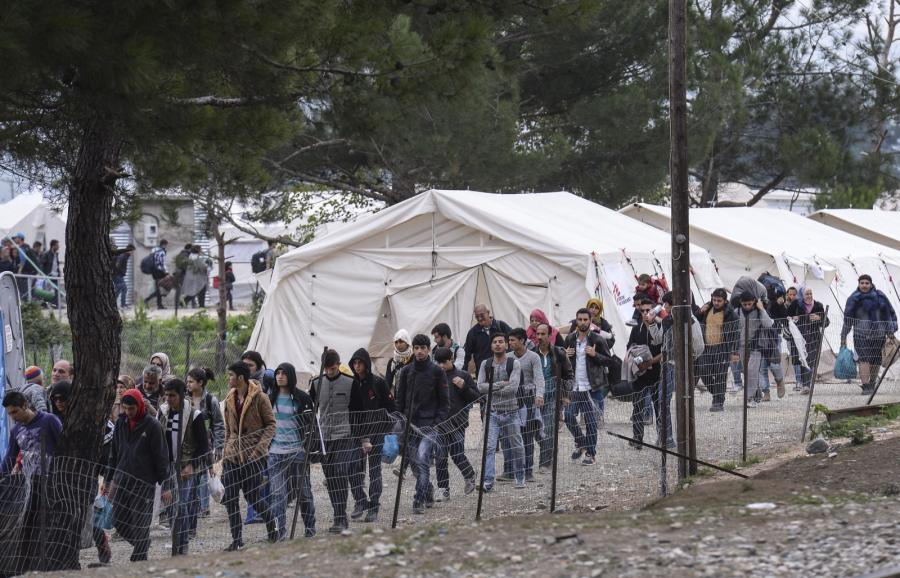 Uchodźcy z Syrii w Macedonii