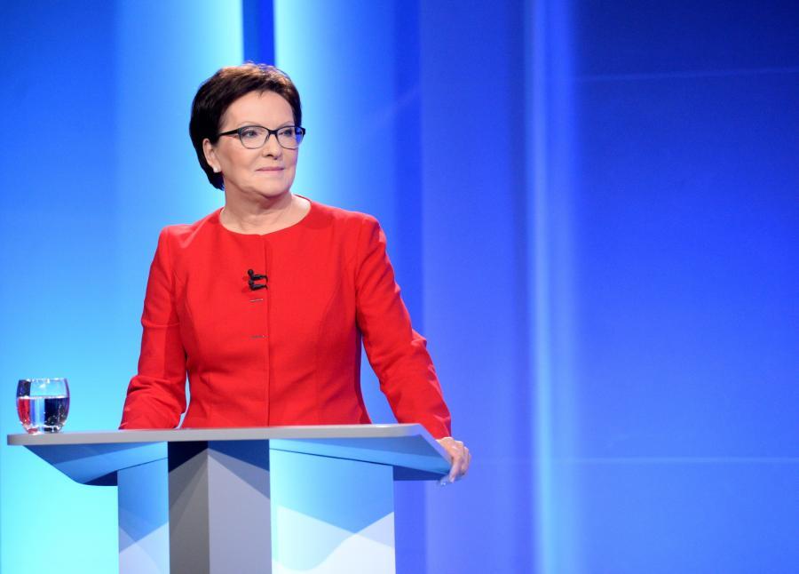 Przewodnicząca PO, premier Ewa Kopacz
