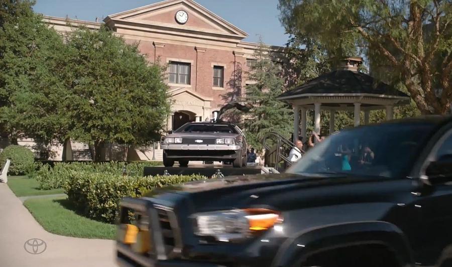 Kadr z filmu Toyoty
