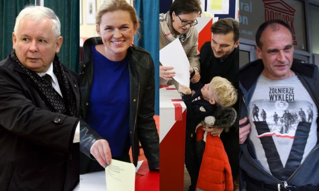 Politycy już zagłosowali. Wielu przyszło do lokali wyborczych z rodzinami. ZDJĘCIA