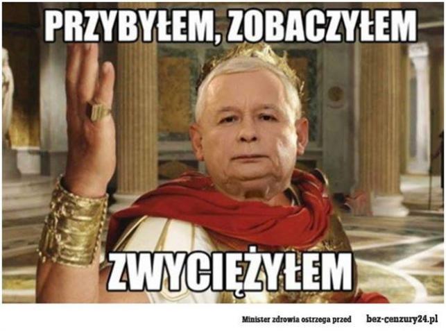 Jarosław Kaczyński - mem / bz-cenzury24.pl
