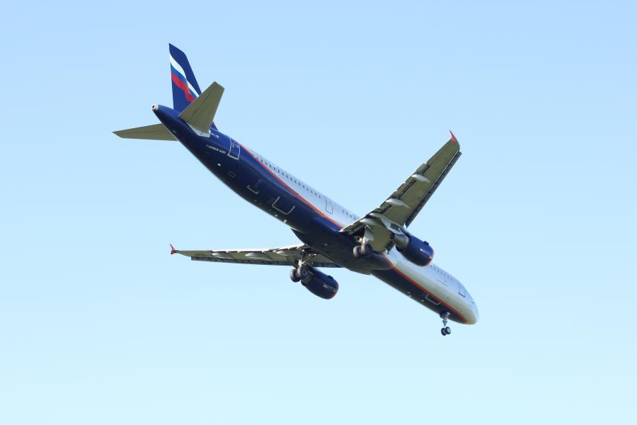 Airbus A-321 rosyjskich linii Aerofłot