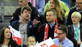Robert Radwański i Andrzej Duda