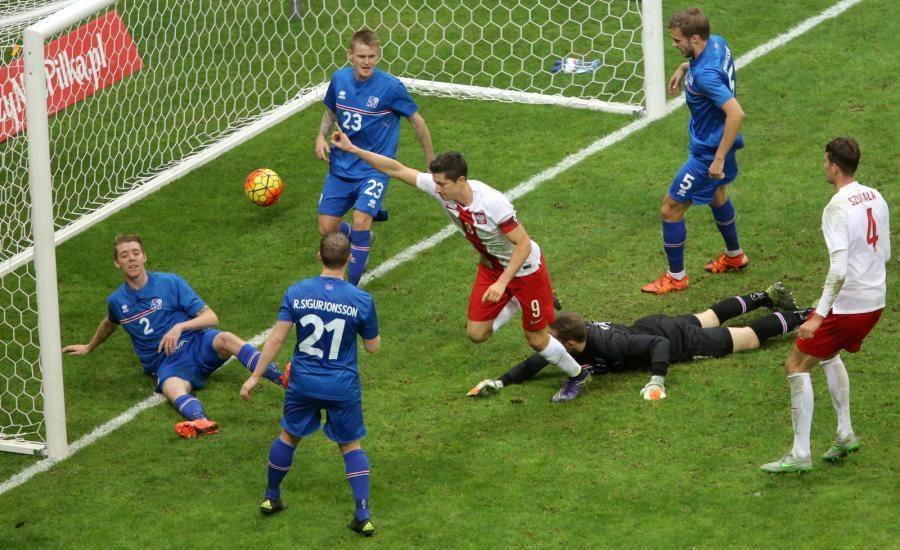Polska - Islandia 4:2