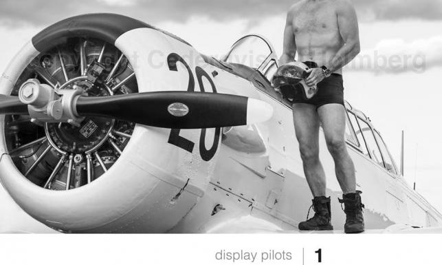 Najlepsi piloci i ich maszyny w kalendarzu na 2016 rok. ZDJĘCIA