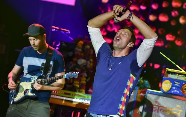 Coldplay w niemieckim Offenbach (8.12.2015)