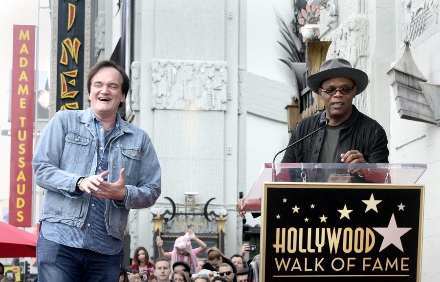 Quentin Tarantino i Samuel L. Jackson