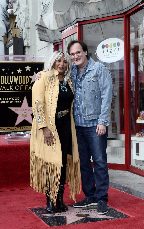 Quentin Tarantino i jego ulubiona aktorka Pam Grier