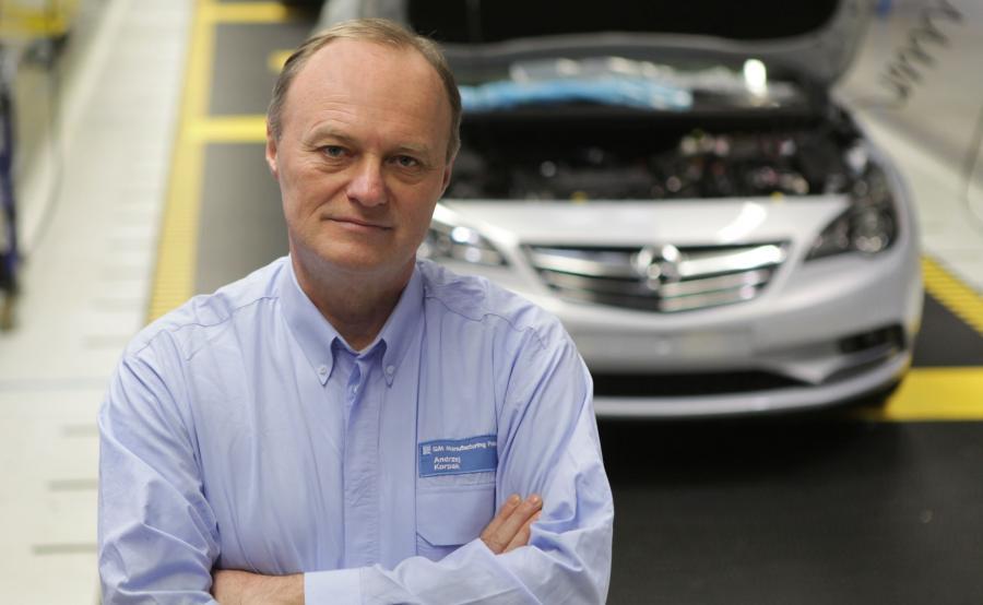Andrzej Korpak, dyrektor generalny GM Manufacturing Poland