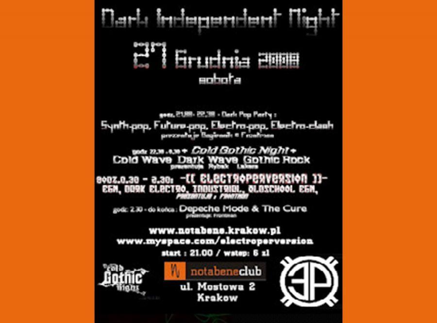 Dark Independent Night w Krakowie