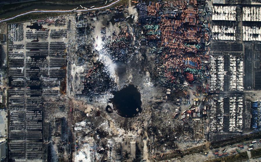 Wybuch w Tianjin