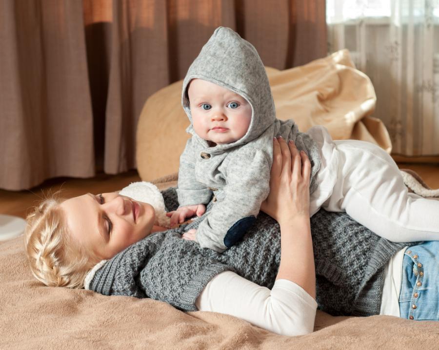 Matka z niemowlęciem