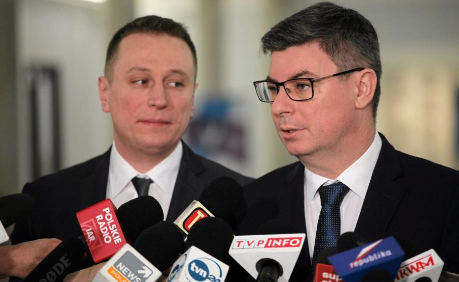 Krzysztof Brejza i Jan Grabiec