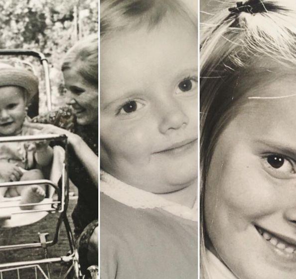 Hanna Lis w dzieciństwie