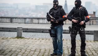 Begijscy policjanci
