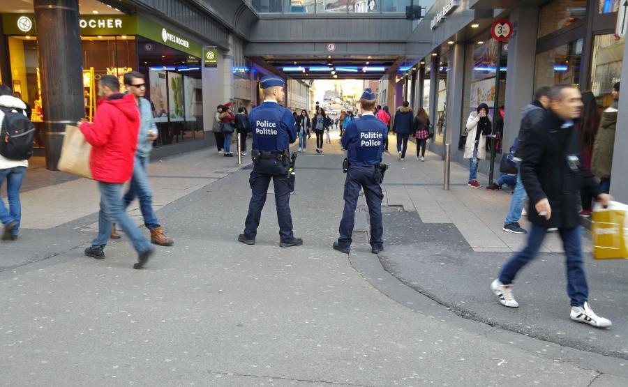 Belgijscy policjanci