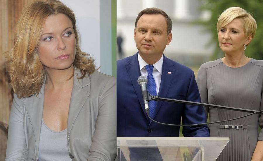 Paulina Młynarska, Andrzej Duda i Agata Duda