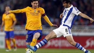 Lionel Messi i Esteban Granero