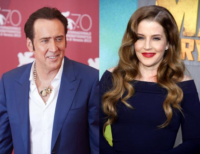 Lisa-Marie Presley i Nicolas Cage