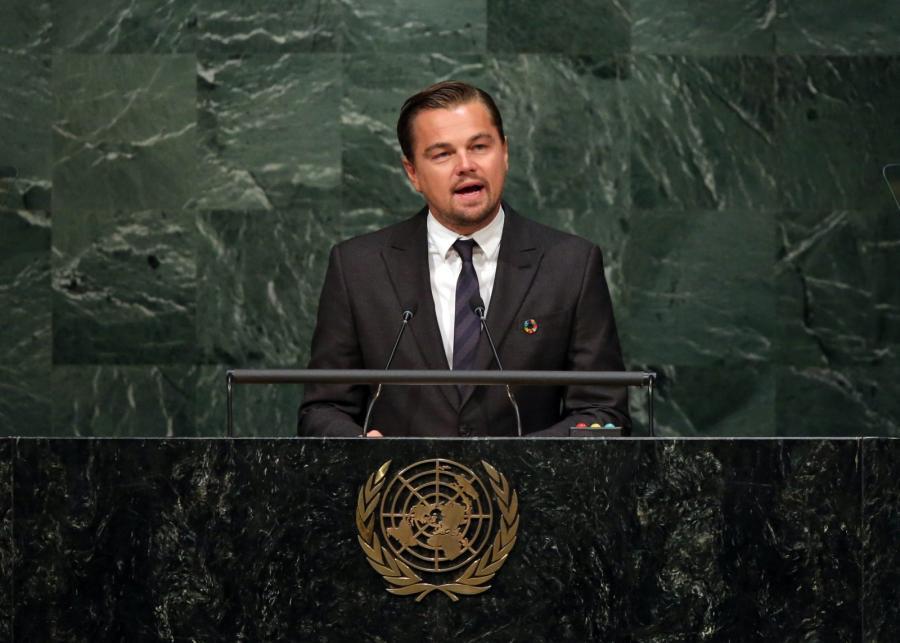 Leonardo DiCaprio na szczycie ONZ: Jesteście ostatnią nadzieją Ziemi