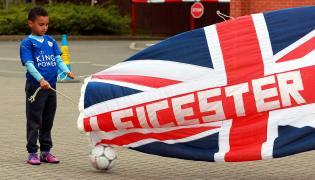 Mały kibic Leicester City