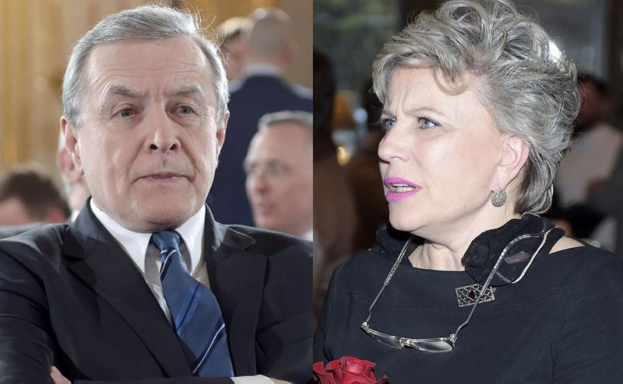 Piotr Gliński, Krystyna Janda